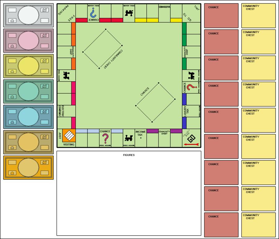 Blank Monopoly Board By Clampfan101 Deviantart Com