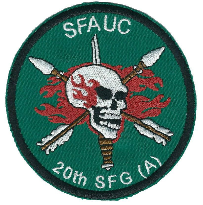 Special Forces Pocket Patch 20th SFG(A) SFAUC (advanced urban ...