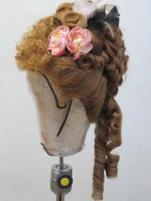 Photos Of Work From Period Hair Courses 1870s Reproduction