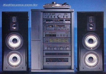 when stacking your stereo system was cool!!!