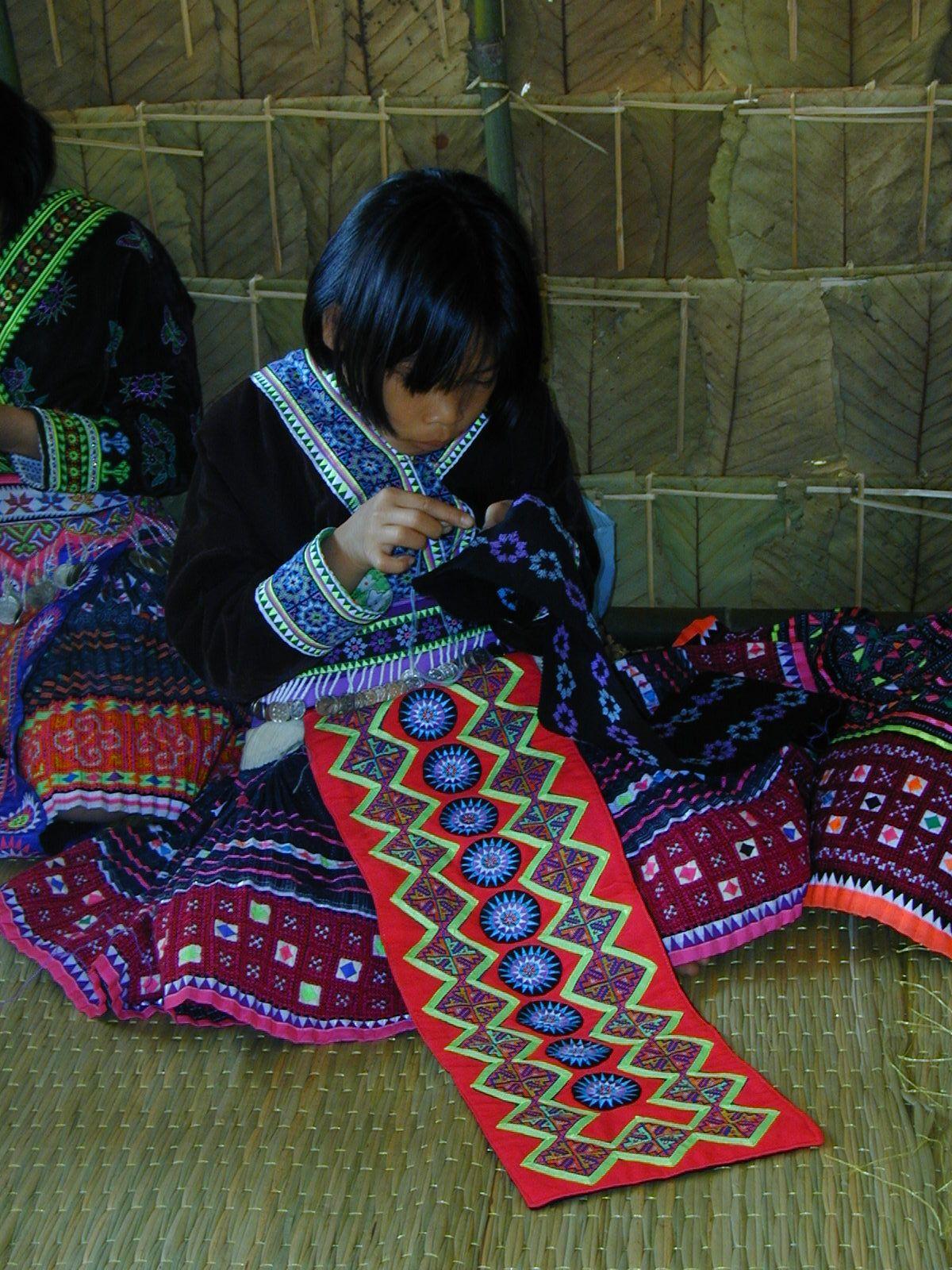 Thailand hill tribe textiles