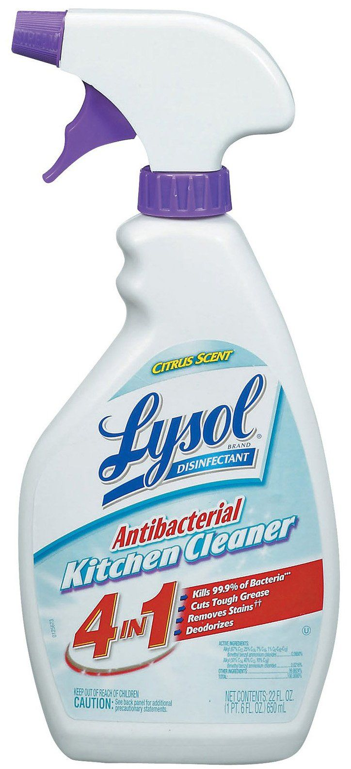 Kitchen Pro Antibacterial Cleaner Trigger Lysol Antibacterial Cleaner