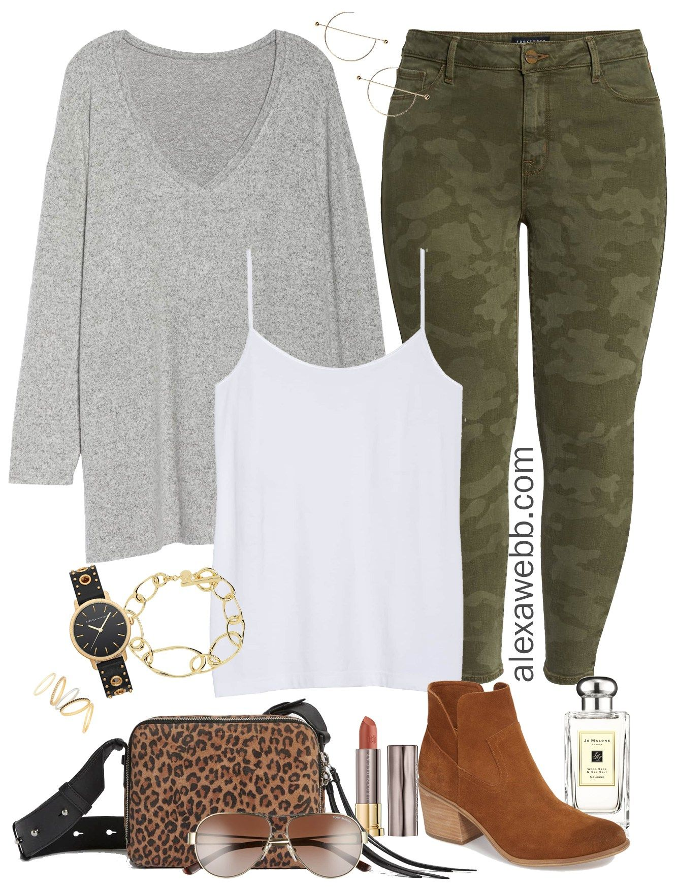 406be50ea2f Plus Size Camo Pants - Plus Size Nordstom Sale Picks - Plus Size Fashion  for Women - alexawebb.com  plussize  alexawebb
