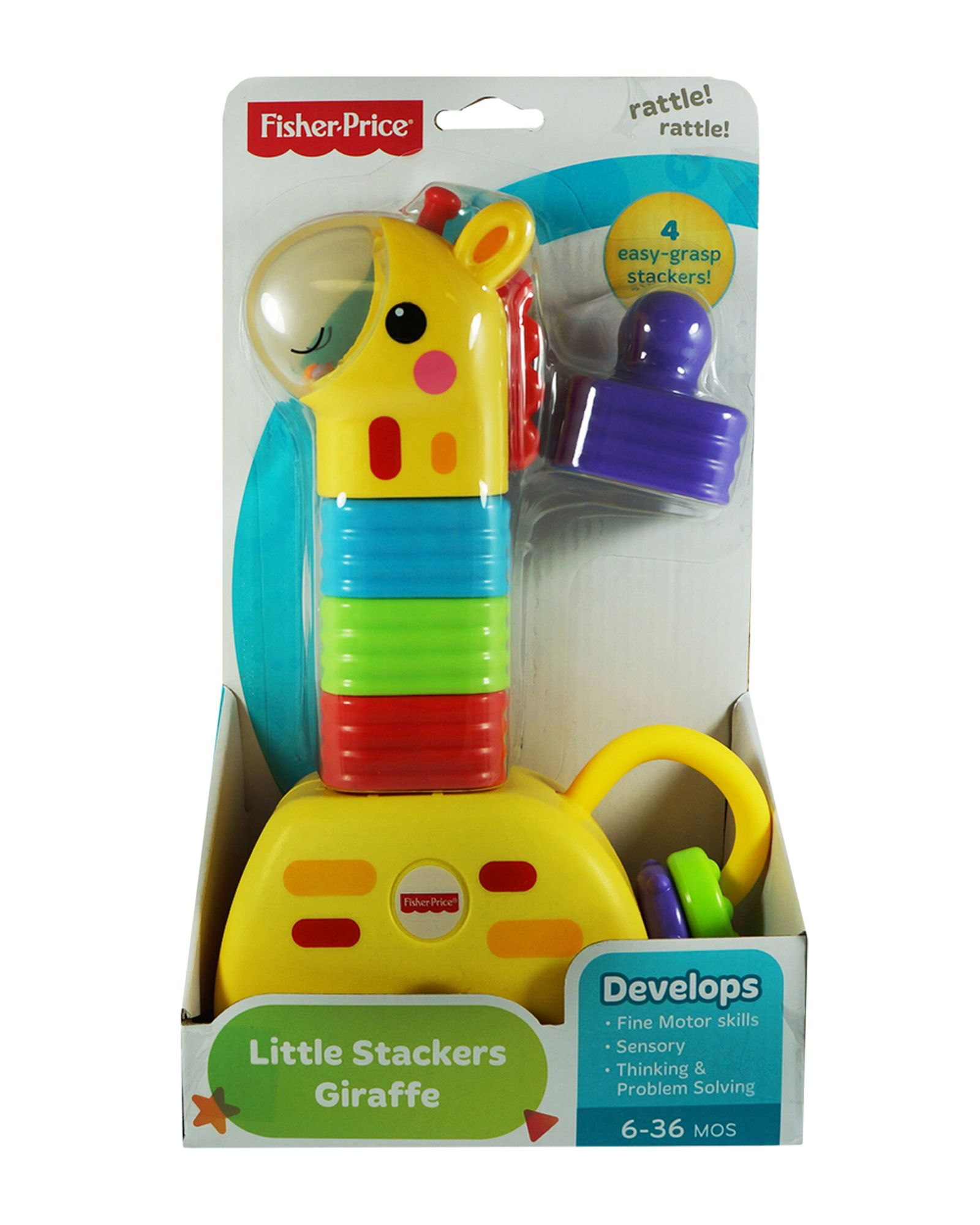 Fisher-Price Little Stackers Giraffe