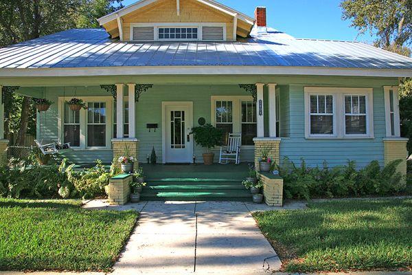 Florida Bungalow Small Homes Pinterest Bungalow, Beach