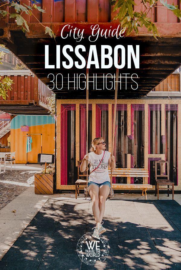 Lissabon in 3 Tagen – Der ultimative City Guide mit 30 großartigen Sehenswürdigkeiten, die jeder besichtigt haben sollte #dolistsorbooks