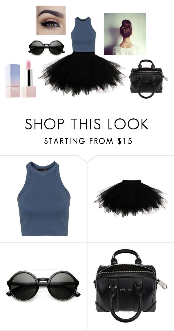 """""""TUTU Ballerina"""" by emmagvance on Polyvore featuring Topshop, Givenchy, Sephora Collection, women's clothing, women, female, woman, misses and juniors"""