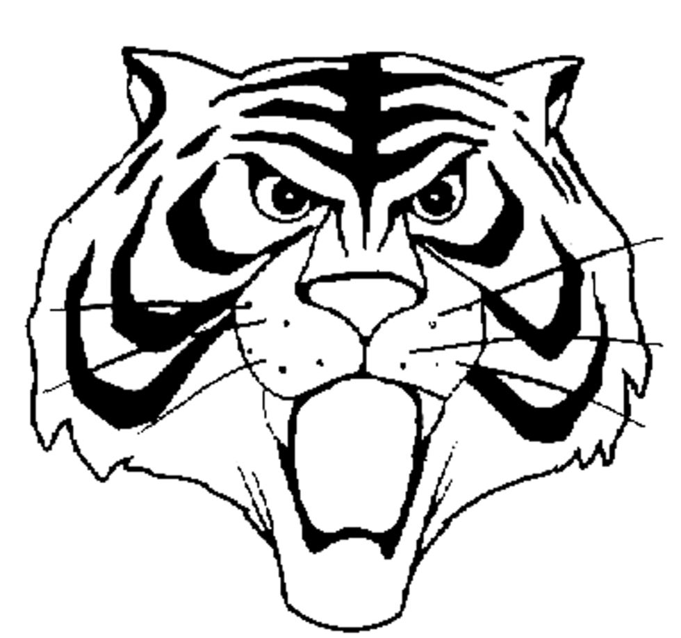 Uomo Tigre Da Colorare.Inviti Compleanno Uomo Tigre Ricerca Google