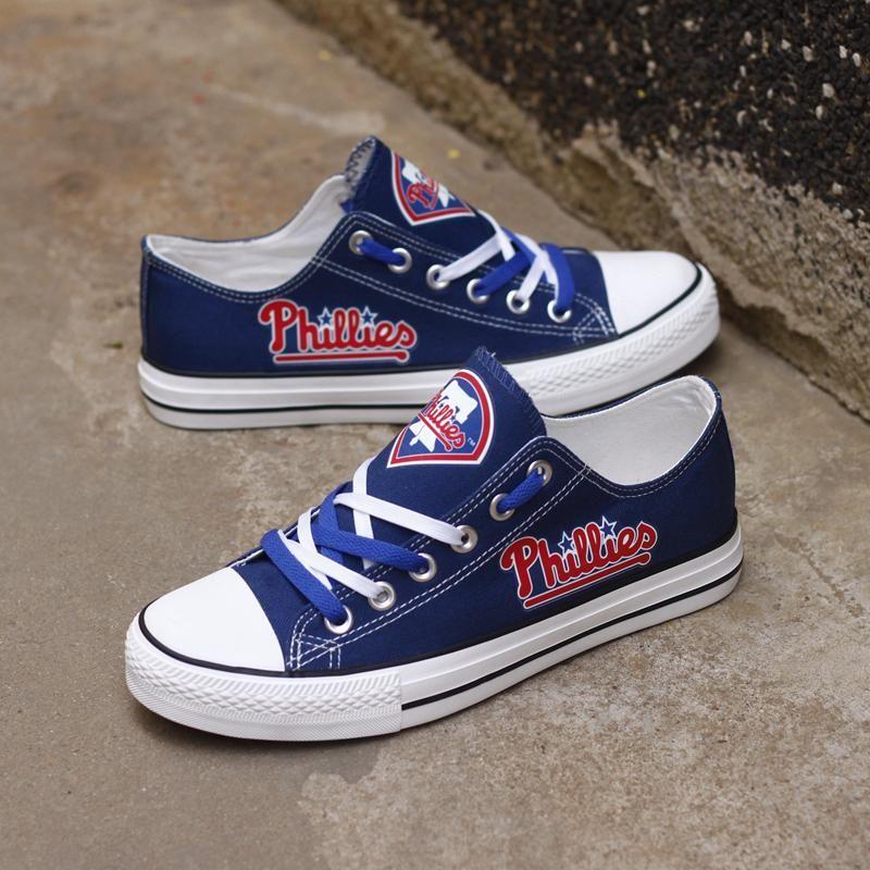 Philadelphia Phillies Canvas Shoes Low