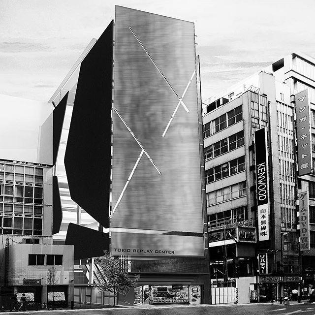 Complexo multi funcional em Tokio. Concurso Internacional de Arquitetura. #art #architecture #arquitectura #building #urban #street #facades #perspective #2ksarquitetos #arquitetapage #pb #akihabara #tokio #archdaily