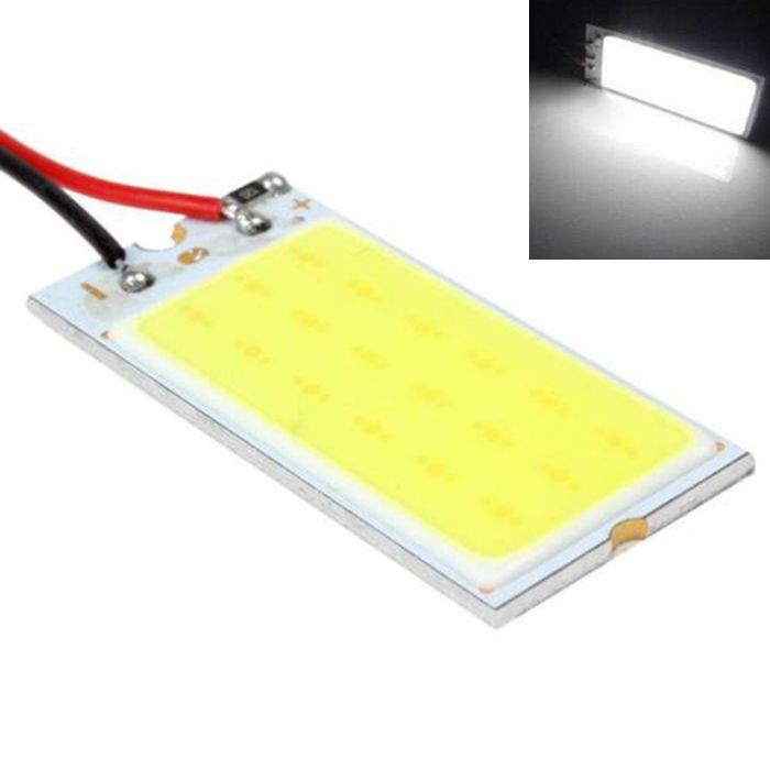 Car Led Super Bright White 8 W Cob 36 Chip Led 18 Led