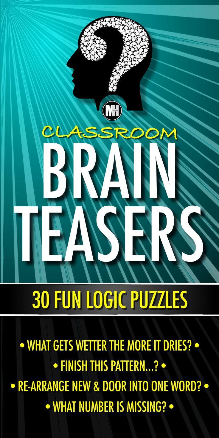 Brain Teasers Worksheets | Hot Trending Now