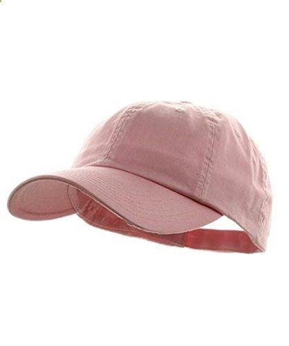 mg tf baseball cap midget caps women low profile dyed cotton twill hat light pink read