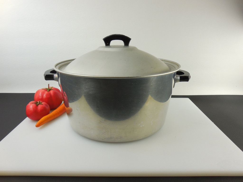 SOLD... Wear Ever TACU CO. USA - 8.5 Quart Aluminum Stock Pot ...