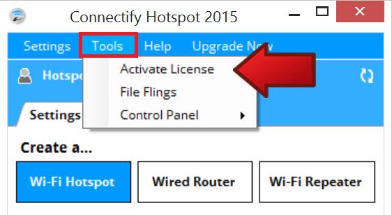 connectify hotspot license key 2015
