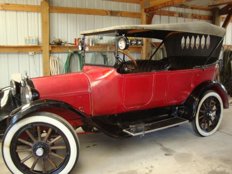 1917 dodge brothers touring car maintenance of old. Black Bedroom Furniture Sets. Home Design Ideas