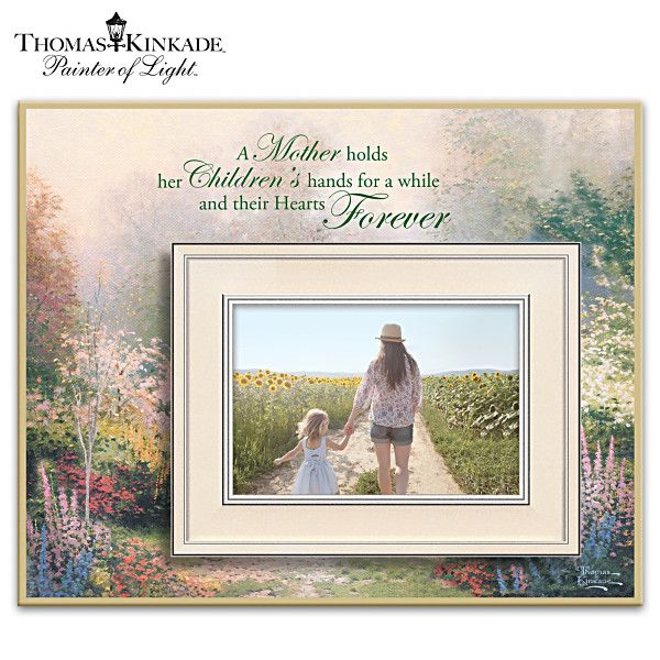 Thomas Kinkade Treasured Memories Photo Frame | дом, милый дом ...