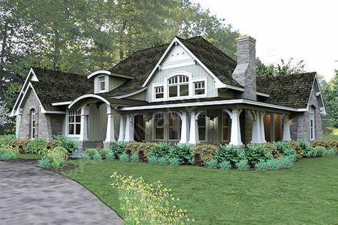 Pleasant Cove House Plan - Pleasant Cove Front Rendering