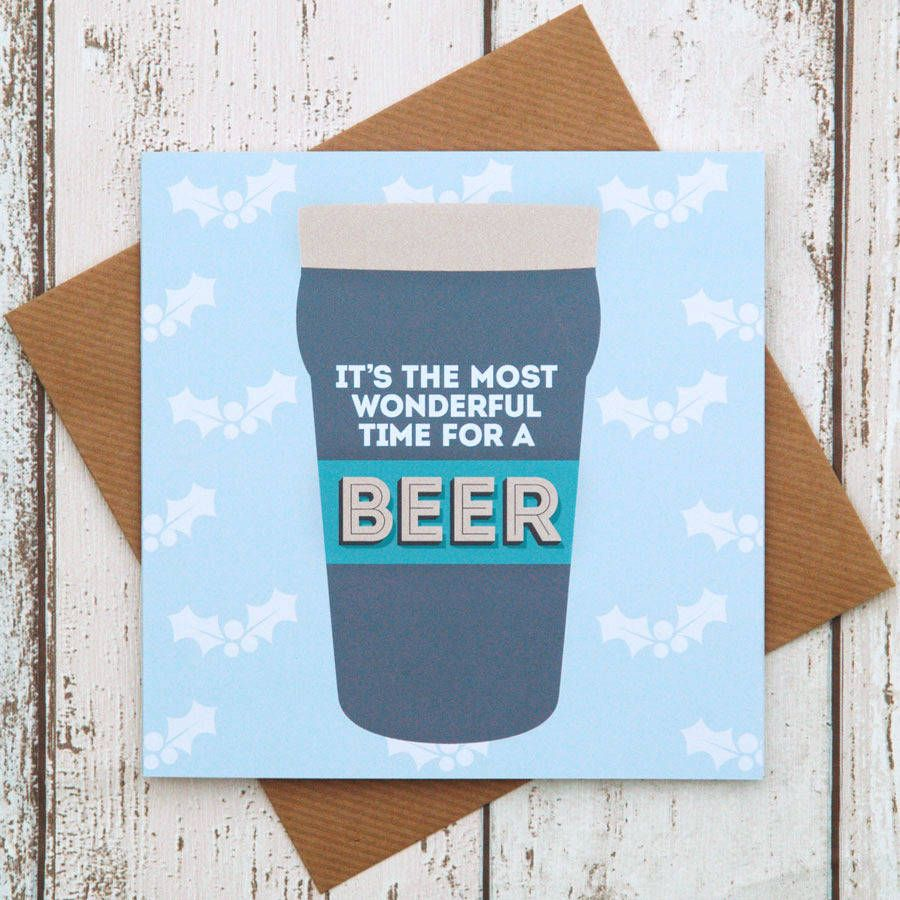 Beer christmas card cellophane wrap christmas messages and paper beer christmas card christmas messagesfunny christmaschristmas cardscellophane kristyandbryce Images