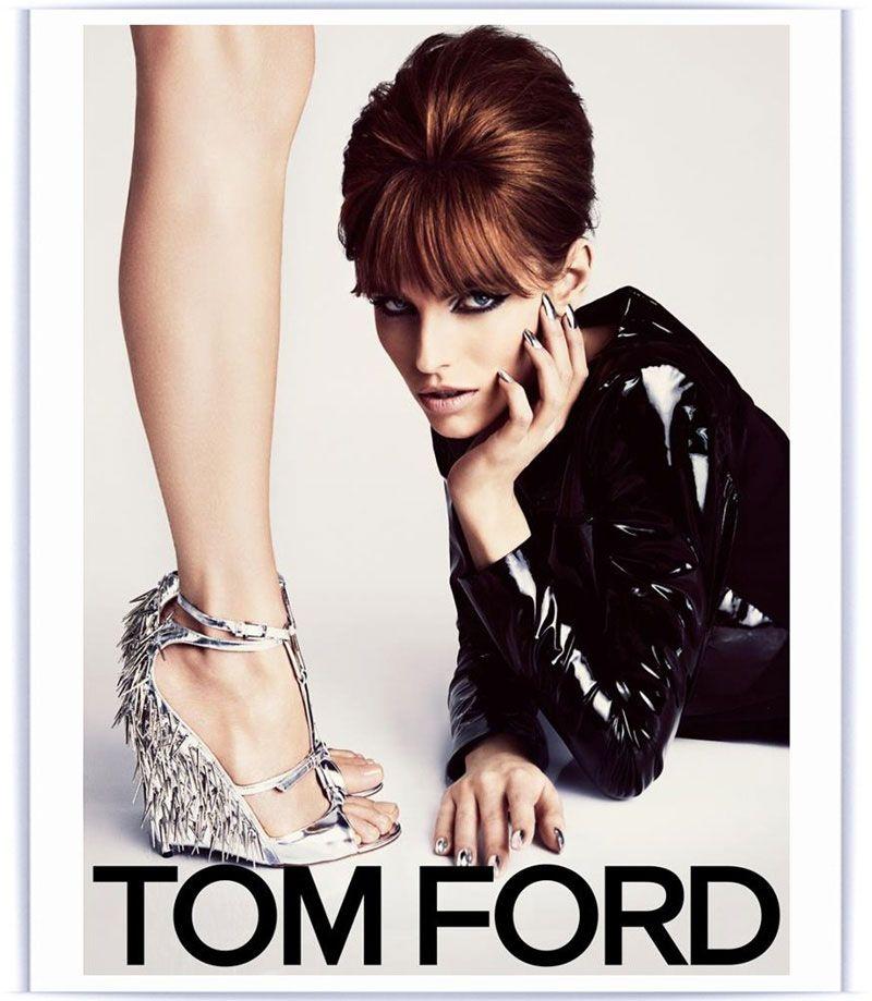 Karlina Caune for Tom Ford Spring/Summer 2013