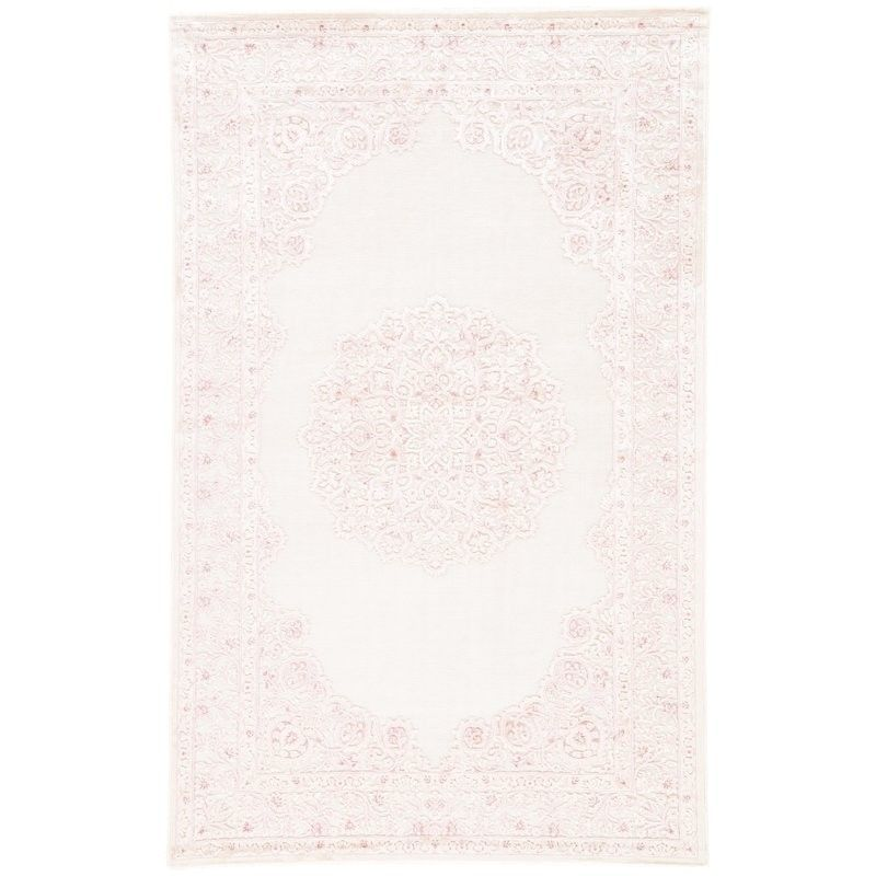 Light Pink French Style Area Rug Pink Area Rug Area Rugs White Area Rug