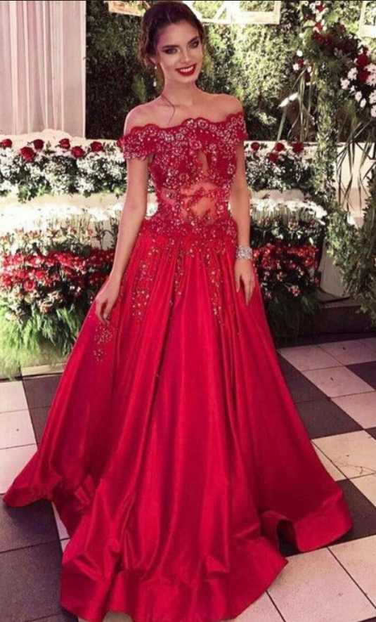 4cf5a7c71f7 Red Backless Mermaid Prom Dress