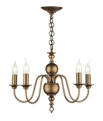 Classic Bronze 5 Light Chandelier Chandeliers Lighting In London Order From The