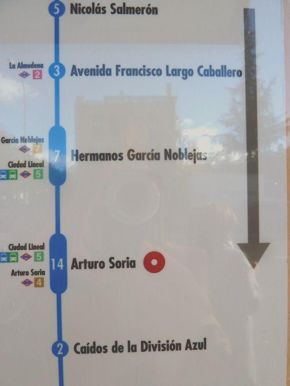 Madrid... la próxima estación...