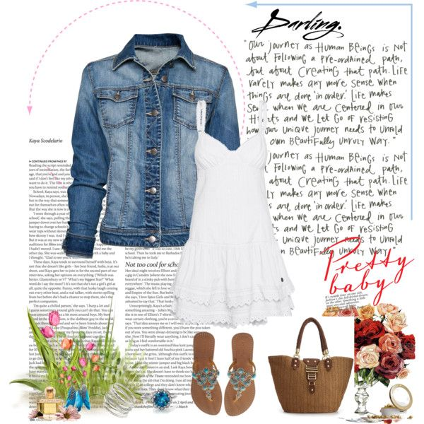 Casual Beach, created by linnearay on Polyvore
