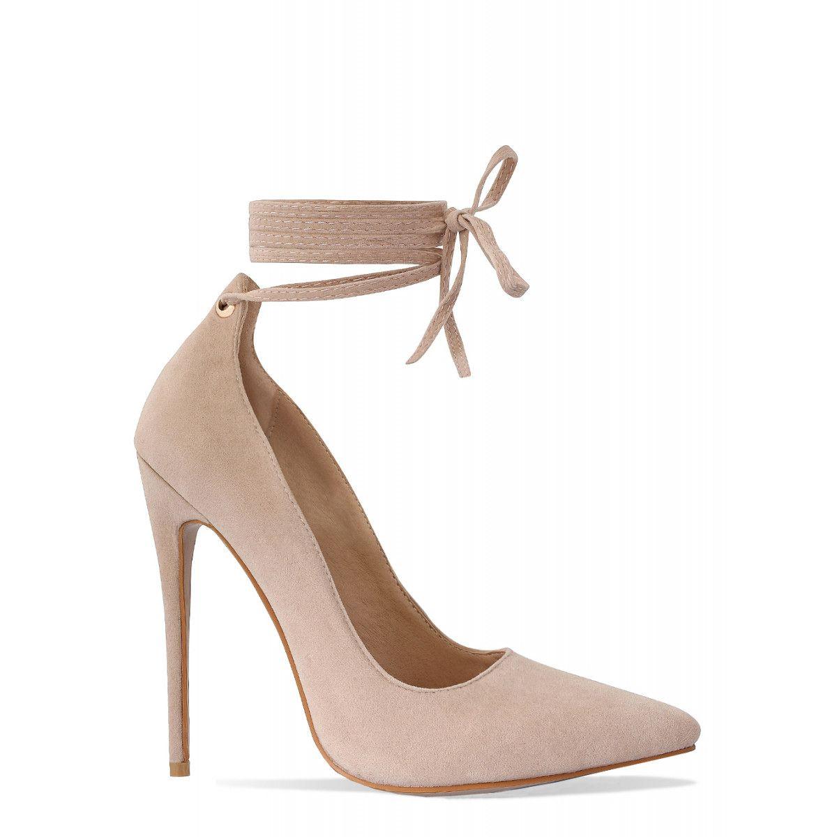 b88b306af4ec 2017 Simmi Shoe Trends Wrap around clear heel in nude