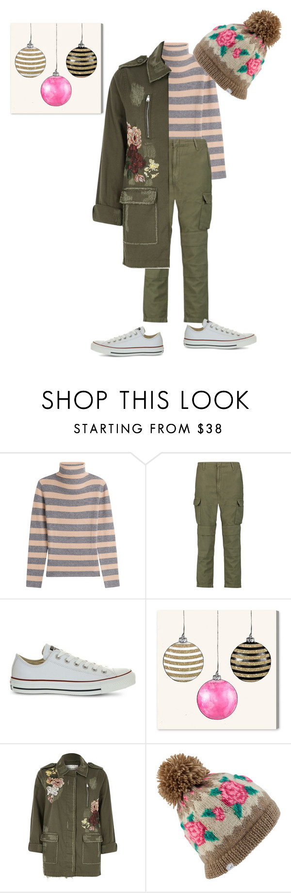 """""""Saturday"""" by katieness ❤ liked on Polyvore featuring 81 Hours, rag & bone, Converse, Oliver Gal Artist Co., River Island and Coal"""
