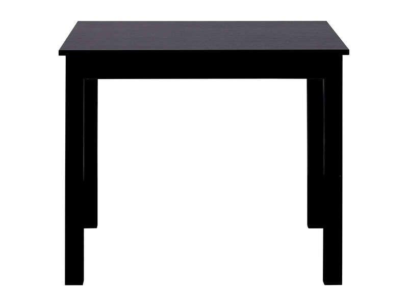 Table Carree Avec Allonge 130 Cm Max Nova Coloris Noir Vente De Table Conforama Avec Images Table Table Carree Conforama