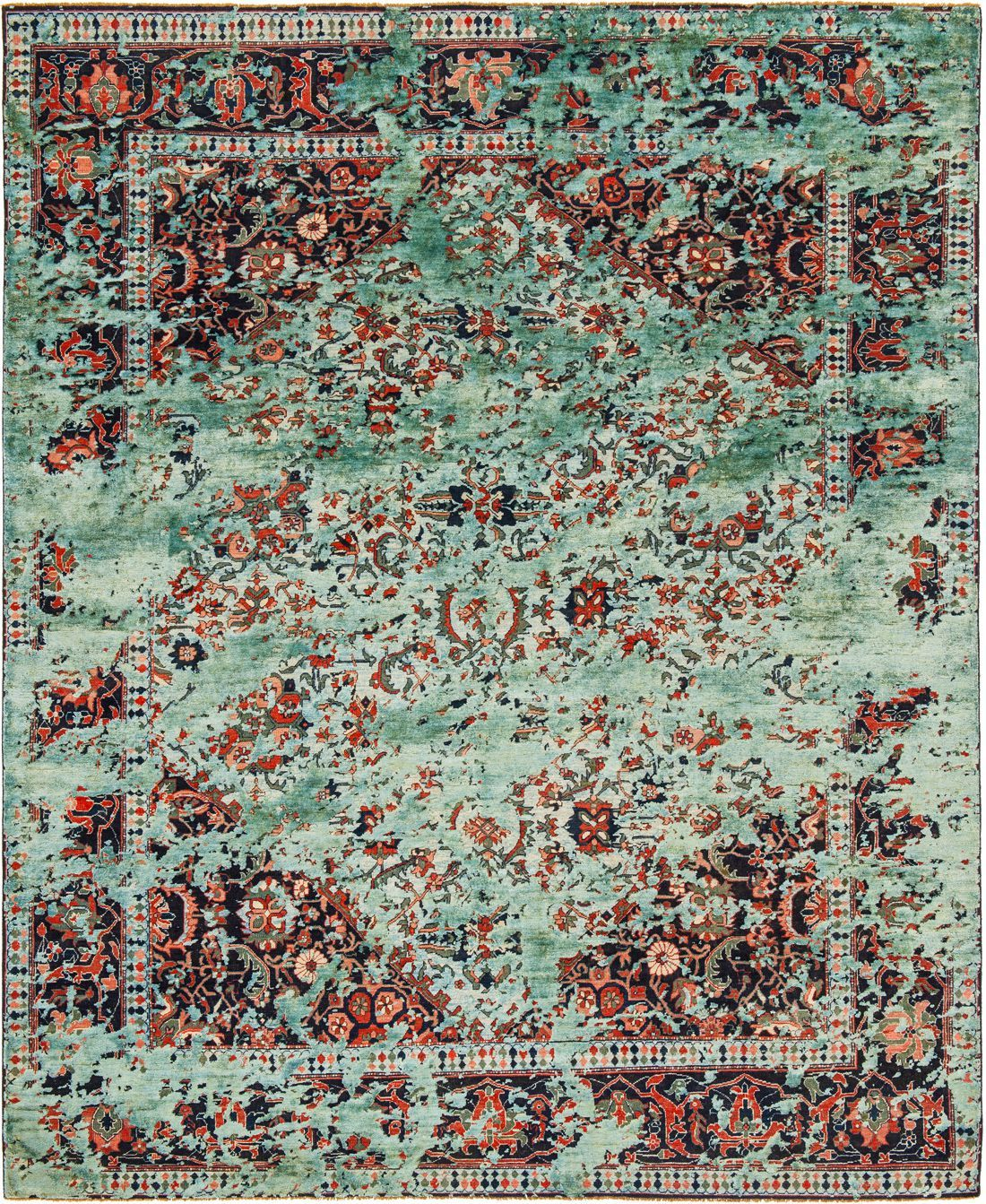 Jan Kath erased heritage by jan kath front rugs decor