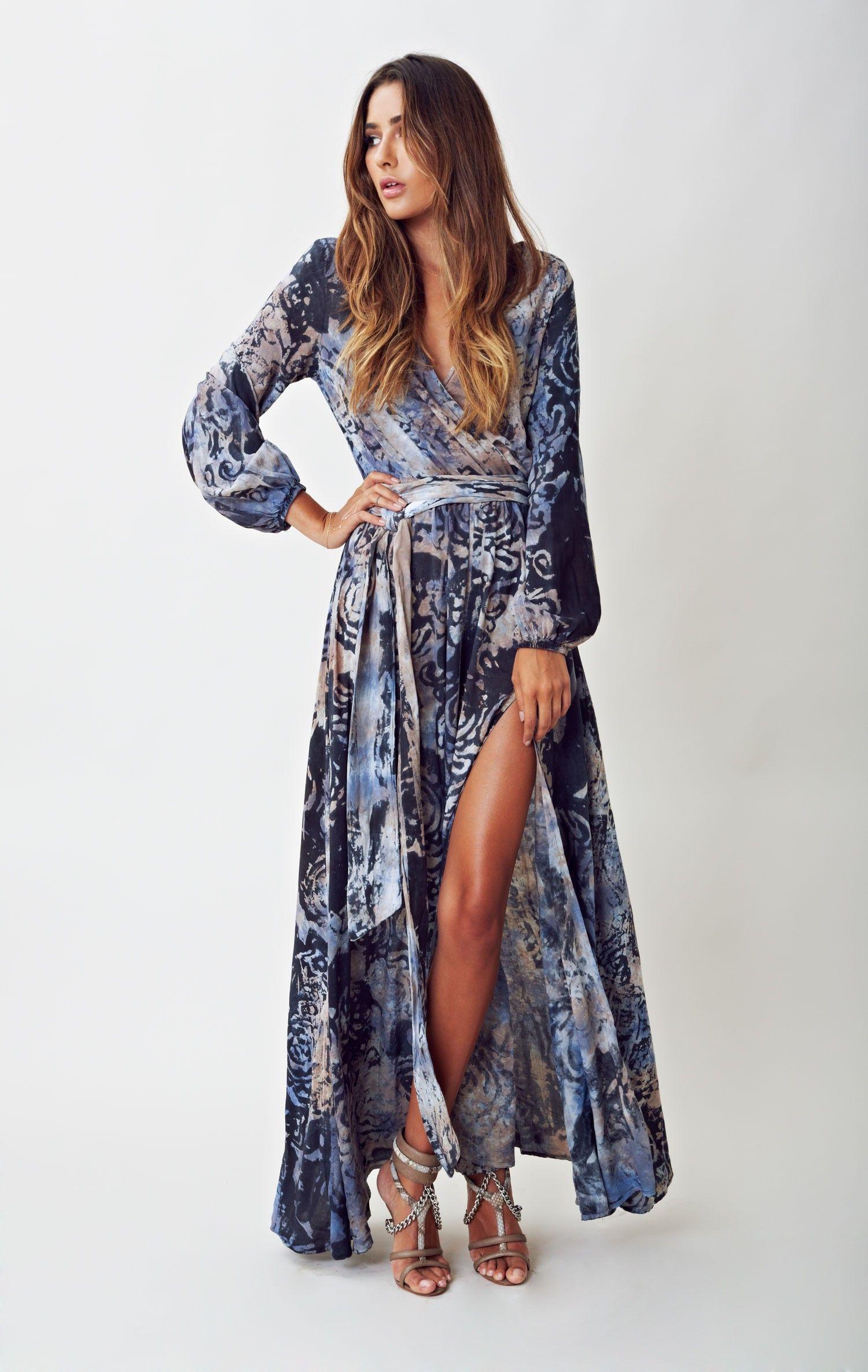 Bold beauty bell sleeve maxi dress summer pinterest sleeved