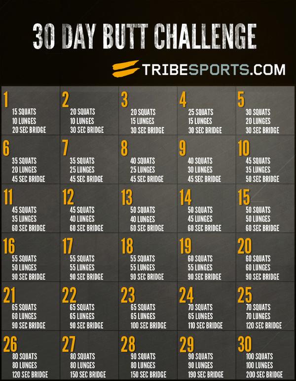 30 Day Butt Challenge - doe jij mee? - Girlscene