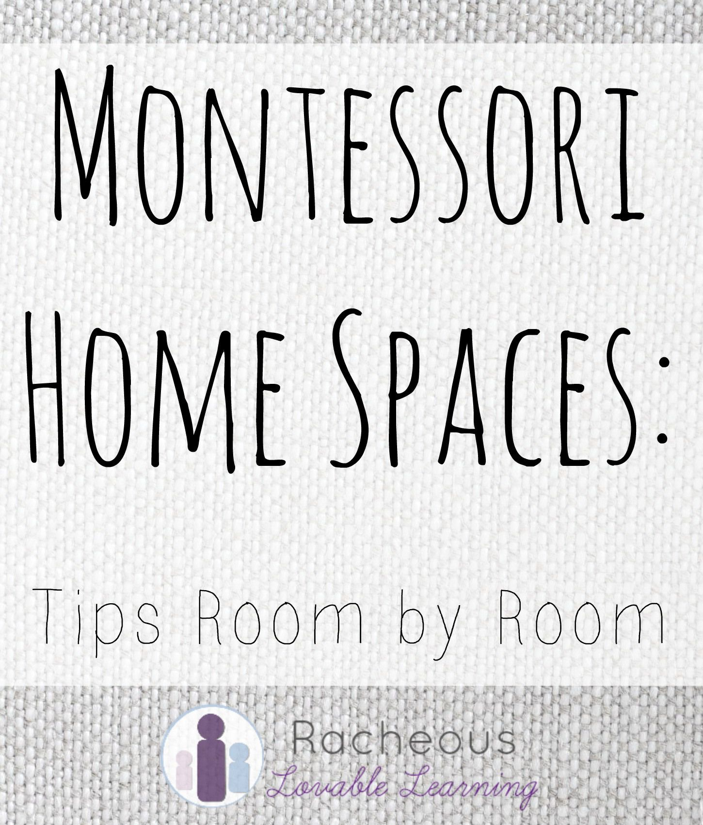montessori home spaces.. GREAT IDEAS FOR AROUND THE HOUSE ...