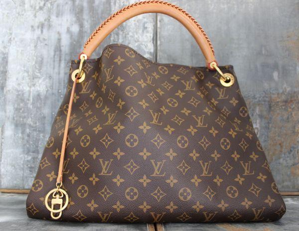 b8d7b51e1c1f Louis Vuitton Monogram Canvas ARTSY MM Shoulder Bag  1