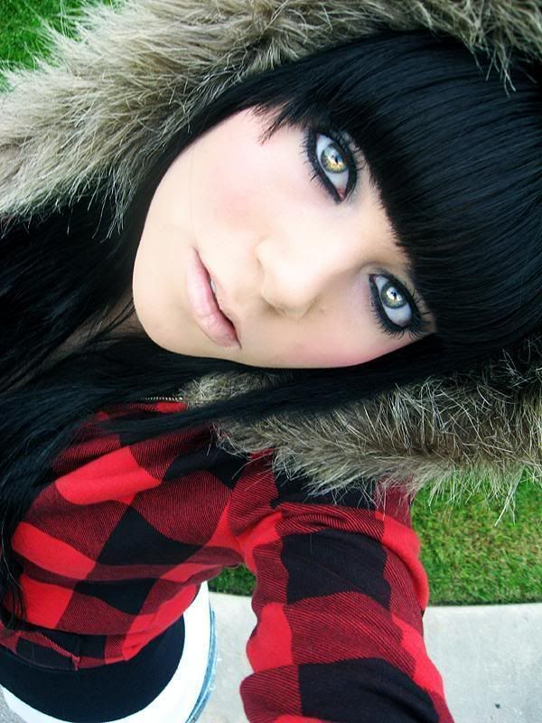 emo chick - cool hairstyle