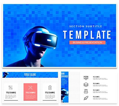 Virtual Reality Headsets Powerpoint Templates Virtual Reality Headset Powerpoint Templates Keynote Template