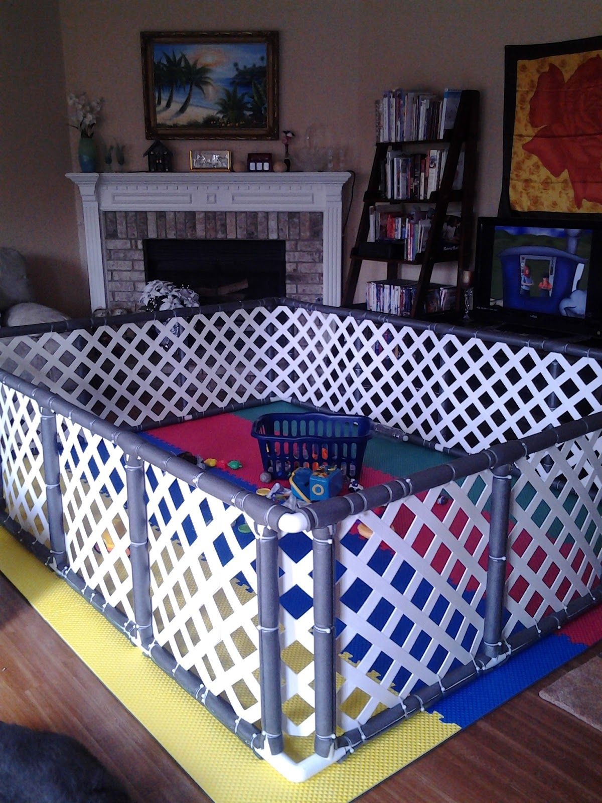 13 Diy Dog Gate Ideas: Our View: Making Of The DeLUXe PlayPen