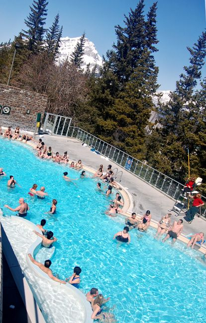 Hot Springs Banff Calgary Cold Outside And Hot In The Pool Great Memories Ic I Ve Seen