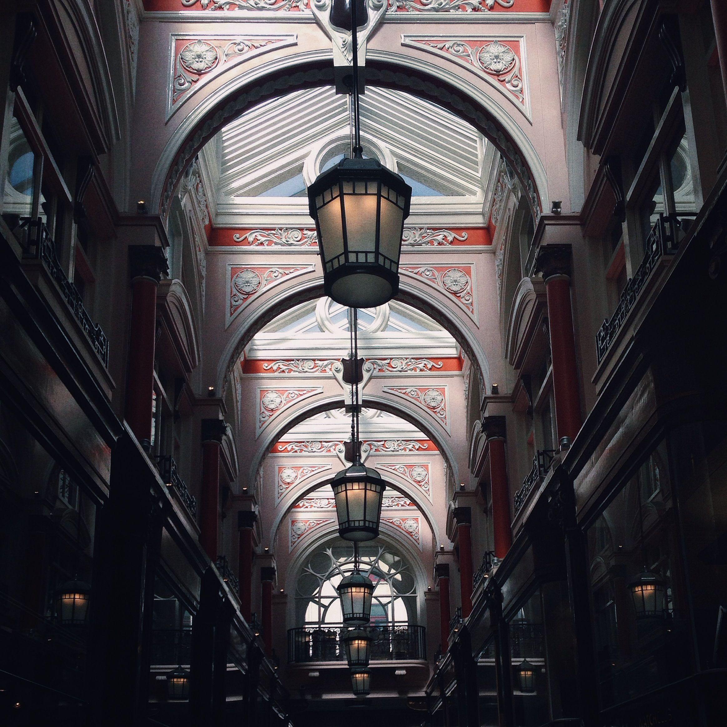 Arcade on Old Bond Street, London. Photo: Rob Bentley 09.5.15 #london #architecure
