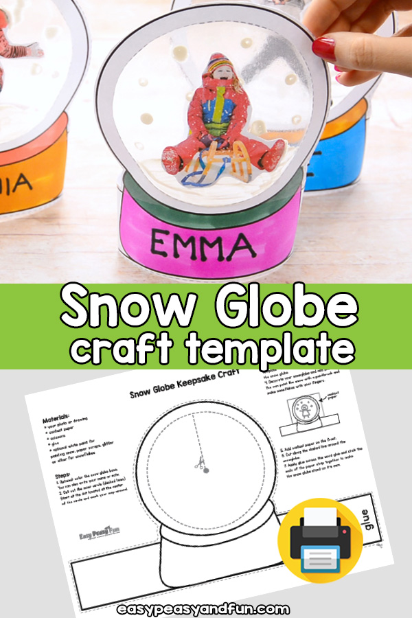 37+ Snow globe craft template ideas