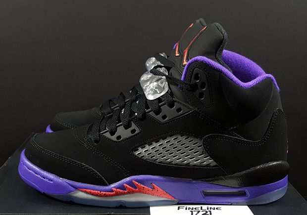 """Even though the colorway released about three years before the team existed, the original Air Jordan 7 in its iconic black, purple, and red version has gotten stuck with the nickname """"Raptors"""" in the years since thanks to its matching … Continue reading →"""