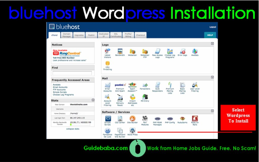 Guide to Install WordPress on BlueHost in 5 Simple Steps