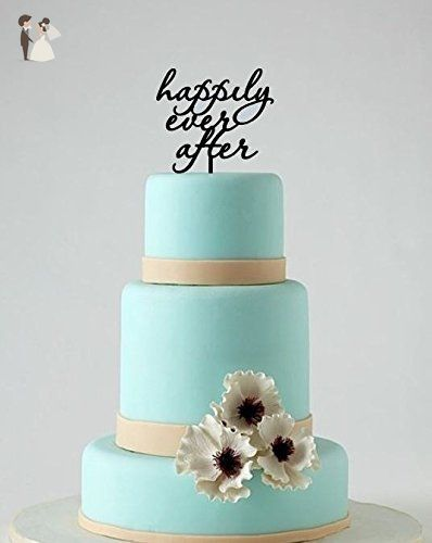 Happily Ever After Wedding Cake Topper Cake Decoration Venue