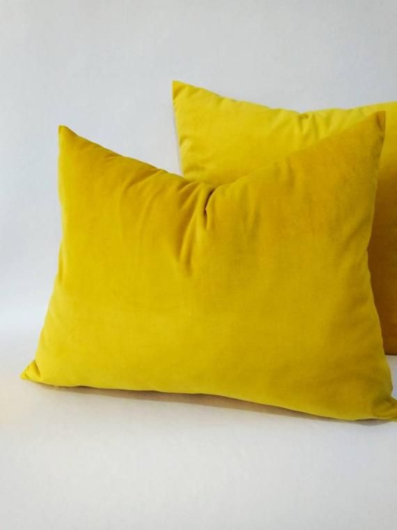 Yellow Pillow, Mustard Pillow, Yellow Pillow Cover, Mustard Sofa Pillow,  Yellow Target Pillow, Musta