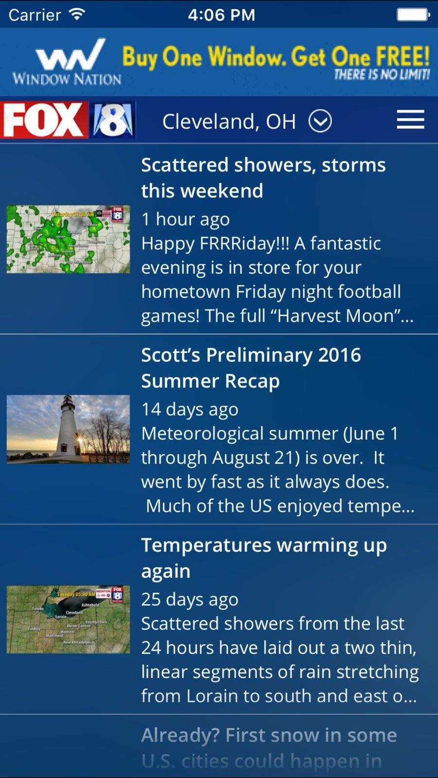 FOX8 Cleveland Weather #News#Company#apps#ios | Apple Game