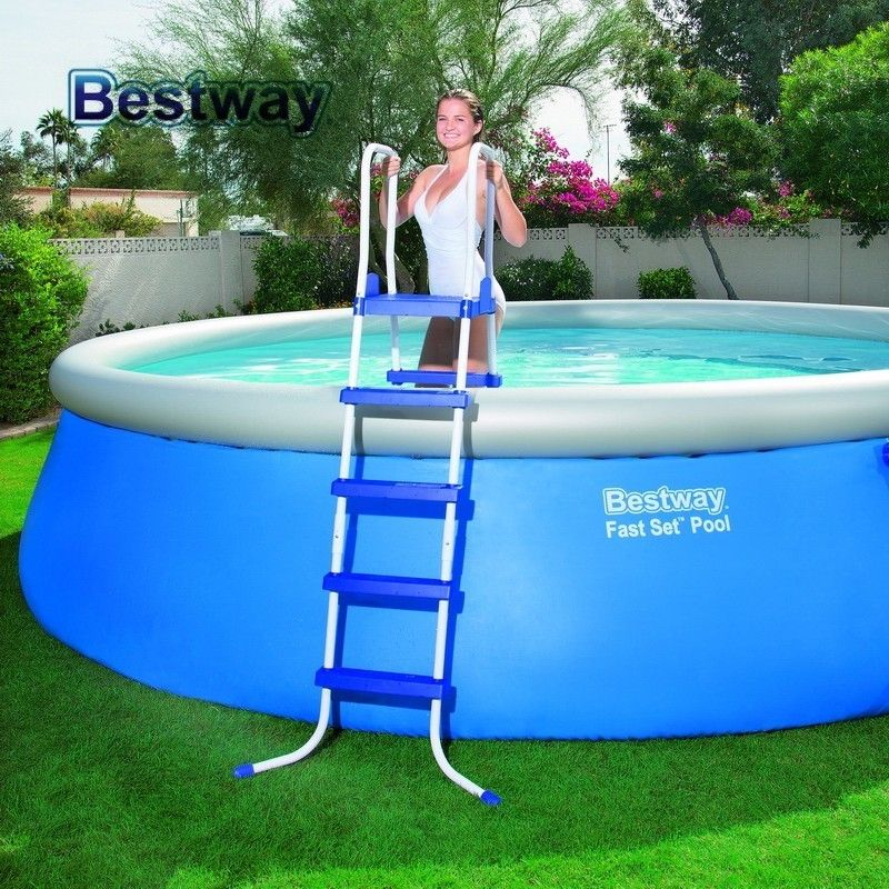 """58337 Bestway 1.32m Safety Pool Ladder 52"""" Specially"""