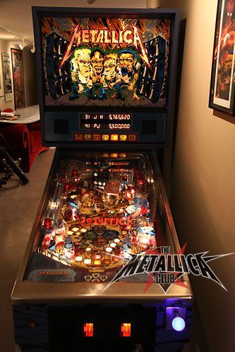 Crafting a custom Metallica pinball table with Linux, love | Pinball